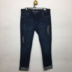 Kut From The Kloth Amy Ankle Straight Leg Jeans